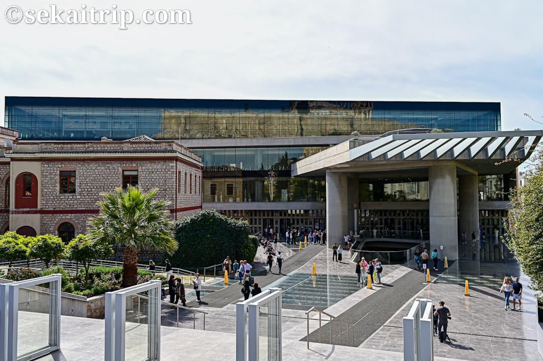 アクロポリス博物館(Acropolis Museum)