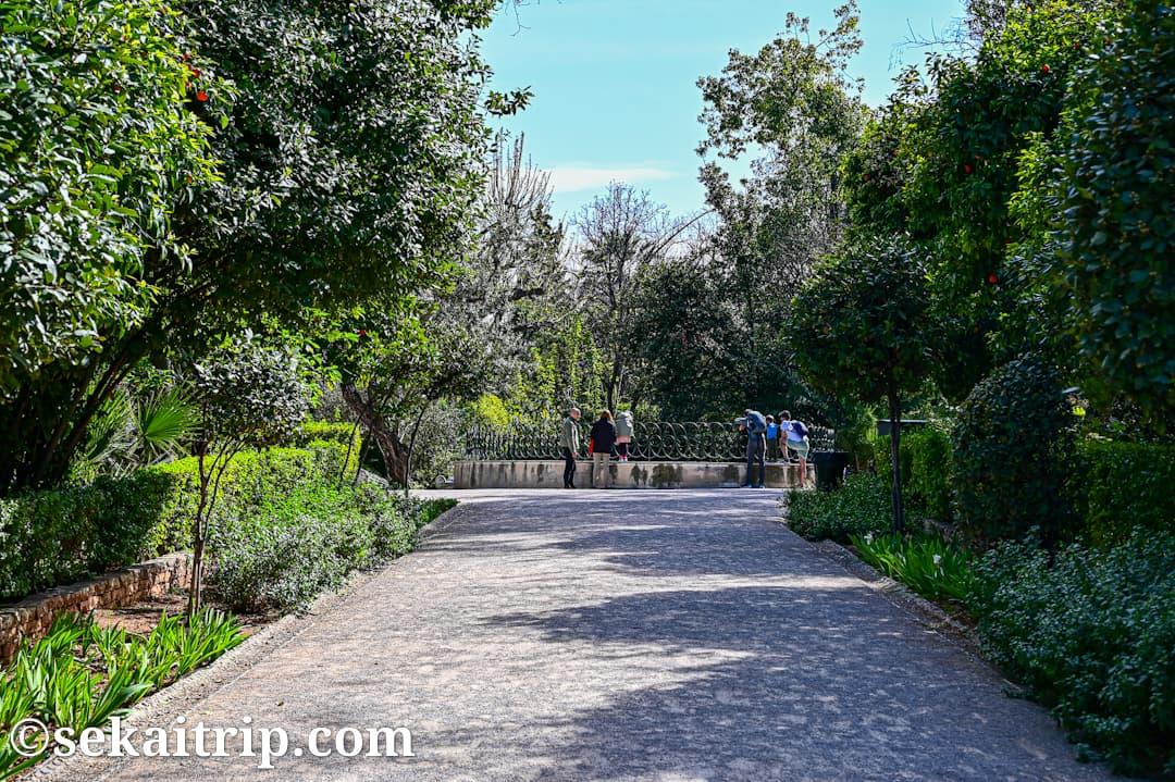 ギリシャ・アテネの国立庭園(National Gardens)