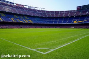 カンプノウ(Camp Nou)のピッチ