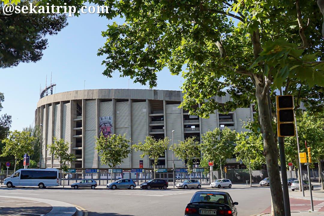 スペイン・バルセロナのカンプノウ(Camp Nou)