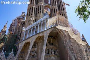 バルセロナのサグラダ・ファミリア聖堂(La Sagrada Familia)