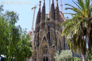 スペイン・バルセロナのサグラダ・ファミリア聖堂(La Sagrada Familia)