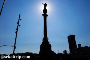 スペイン・バルセロナのコロンブスの塔(Mirador de Colom)