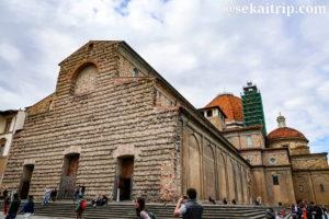 イタリア・フィレンツェのサン・ロレンツォ教会(Basilica di San Lorenzo)