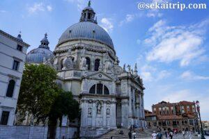 イタリア・ベネチアのサンタ・マリア・デッラ・サルーテ教会(Basilica di Santa Maria della Salute)