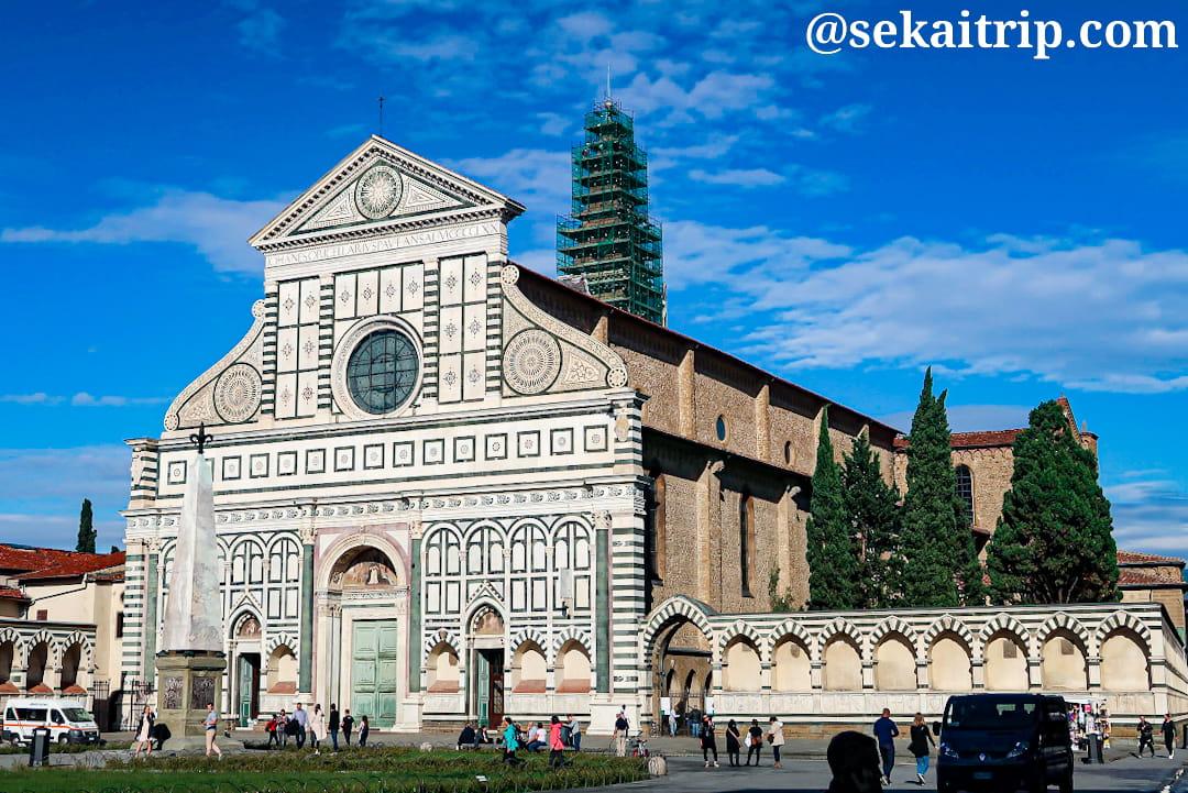 イタリア・フィレンツェのサンタ・マリア・ノヴェッラ教会(Basilica di Santa Maria Novella)