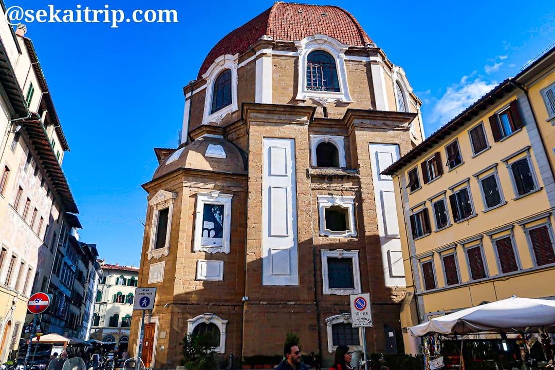 イタリア・フィレンツェのメディチ家礼拝堂(Cappelle Medicee)