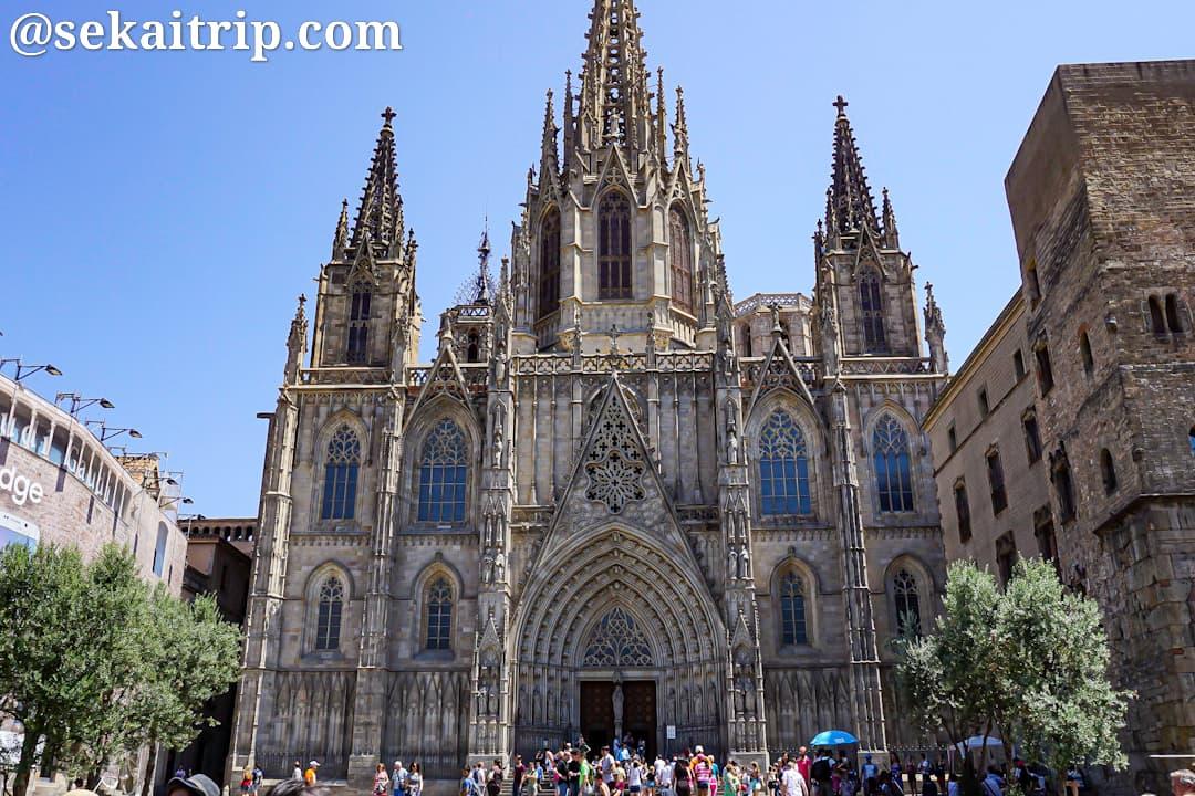 スペイン・バルセロナのサンタ・エウラリア大聖堂(Catedral de Barcelona)