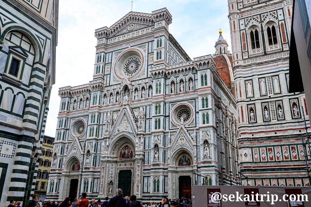 イタリア・フィレンツェにあるサンタ・マリア・デル・フィオーレ大聖堂(Cattedrale di Santa Maria del Fiore)