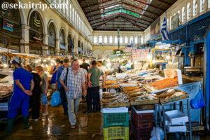 ギリシャ・アテネの中央市場(Central Market)
