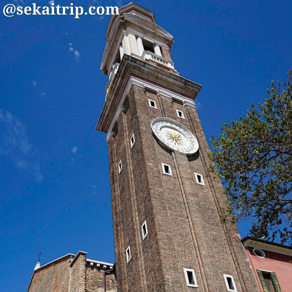 イタリア・ベネチアのサンティ・アポストリ教会(Chiesa dei Santi Apostoli)