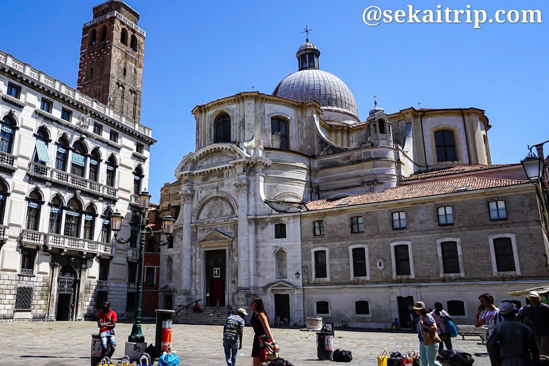 イタリア・ベネチアのサン・ジェレミア教会(Chiesa di San Geremia)