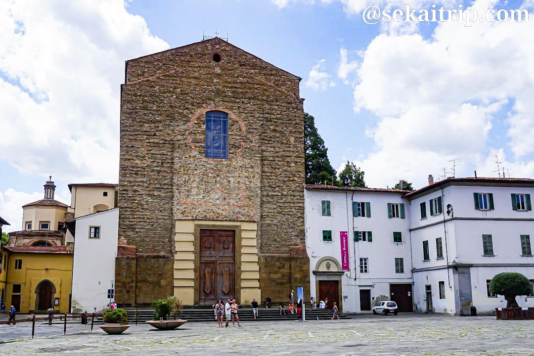 イタリア・フィレンツェのサンタ・マリア・デル・カルミネ教会(Chiesa di Santa Maria del Carmine)