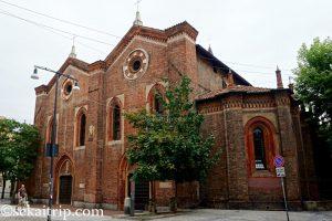 イタリア・ミラノのサンタ・マリア戴冠教会(Chiesa Santa Maria Incoronata)