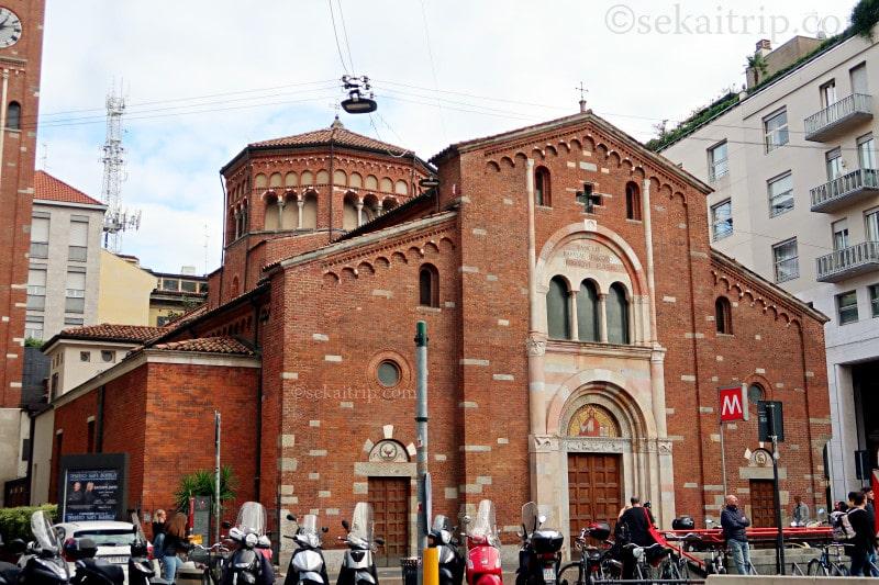 イタリア・ミラノのサン・バビラ教会(Church of San Babila)