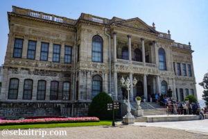イスタンブールのドルマバフチェ宮殿