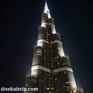 ドバイのブルジュ・ハリファ(Burj Khalifa)