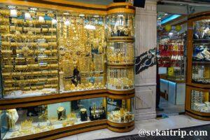ドバイのゴールド・スーク(Gold Souk)※店舗