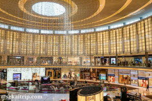 ドバイモール(The Dubai Mall)内のブランド店