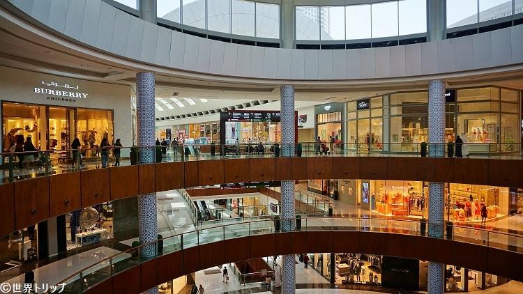 ドバイモール(The Dubai Mall)内部