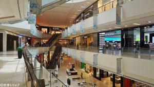 ドバイ・マリーナ・モール(Dubai Marina Mall)内