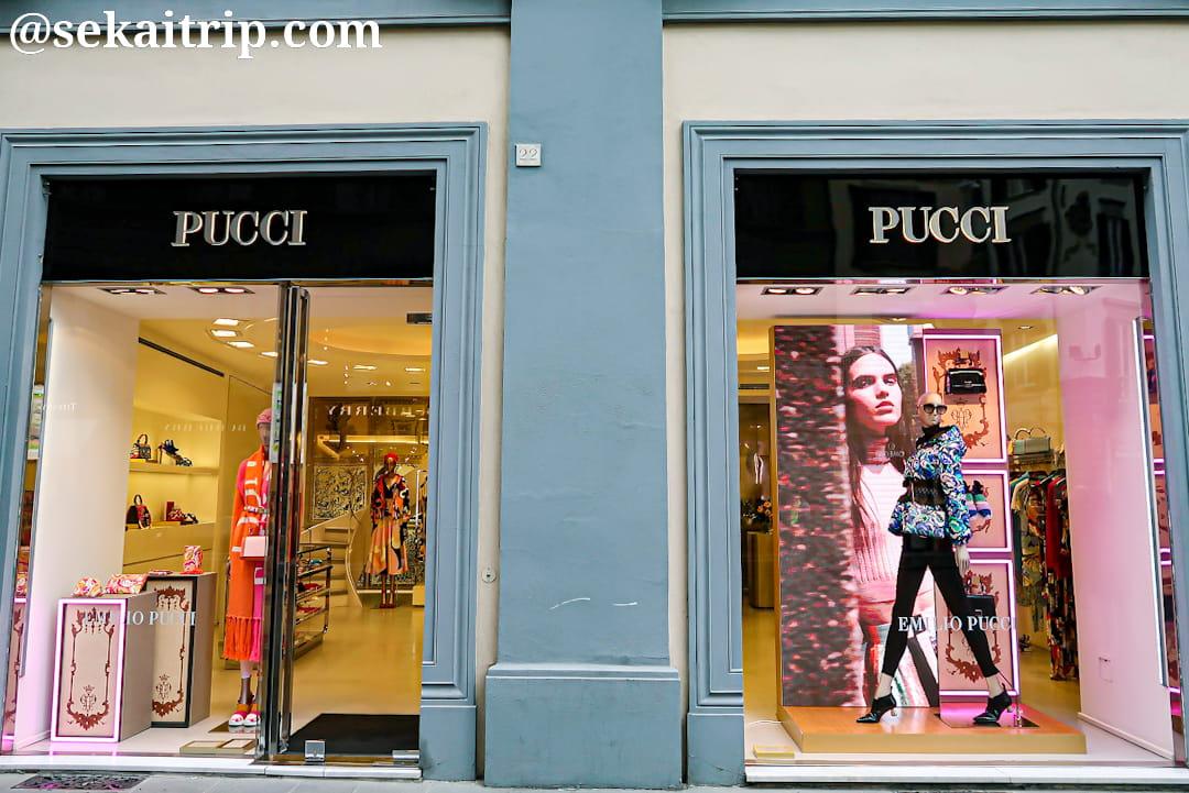 フィレンツェのエミリオ・プッチ本店