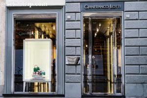 フィレンツェのジャンフランコ・ロッティ(GIANFRANCO LOTTI)本店