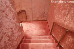 グッチ本店の階段