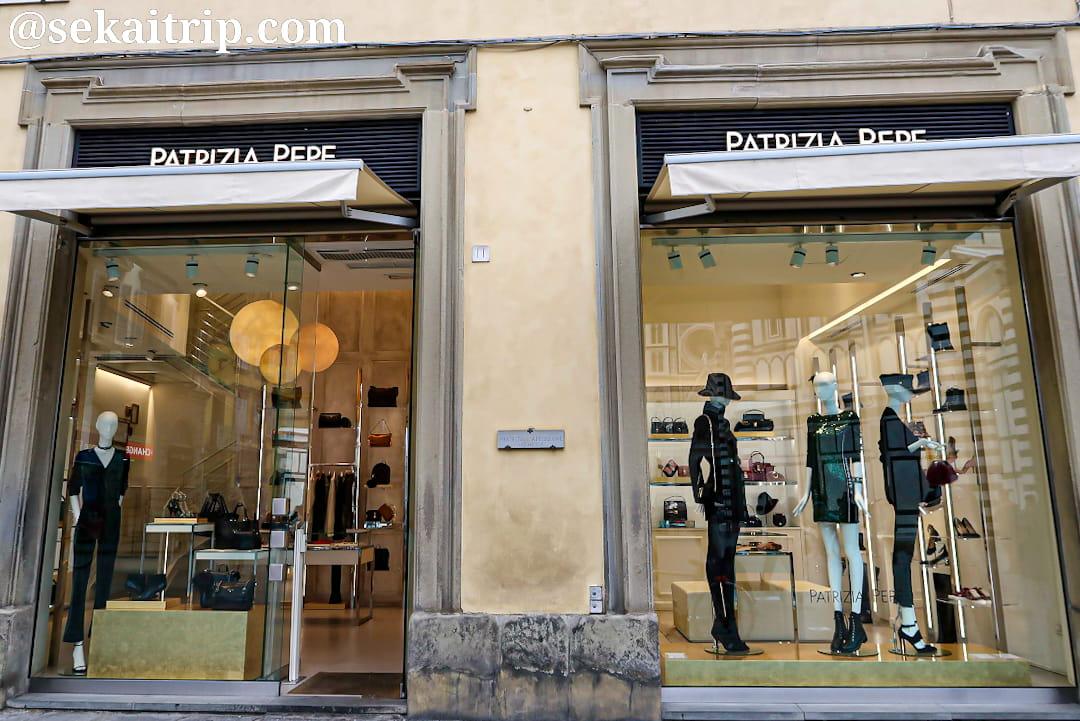 フィレンツェのパトリツィア・ペペ(PATRIZIA PEPE)本店