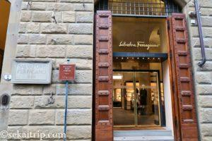 フィレンツェのサルバトーレ・フェラガモ本店(SPA)