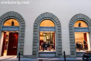 フィレンツェのステファノ・リッチ(STEFANO RICCI)本店