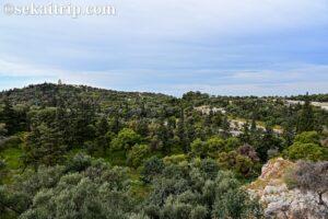 ギリシャ・アテネのフィロパポスの丘(Philopappos Hill)
