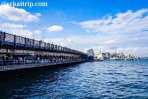 イスタンブールのガラタ橋(Galata Köprüsü)