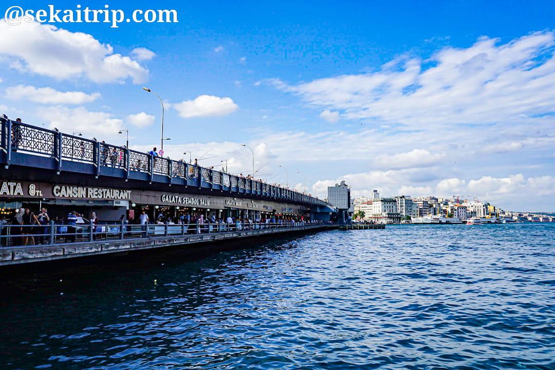 トルコ・イスタンブールのガラタ橋(Galata Koprusu)