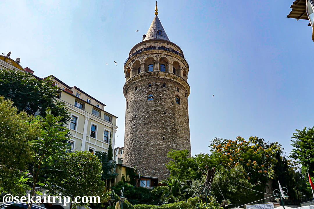 トルコ・イスタンブールのガラタ塔(Galata Kulesi)