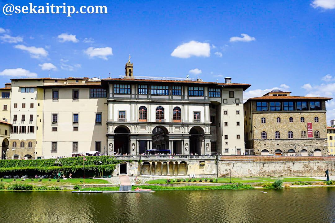 イタリア・フィレンツェのウフィツィ美術館(Galleria degli Uffizi)