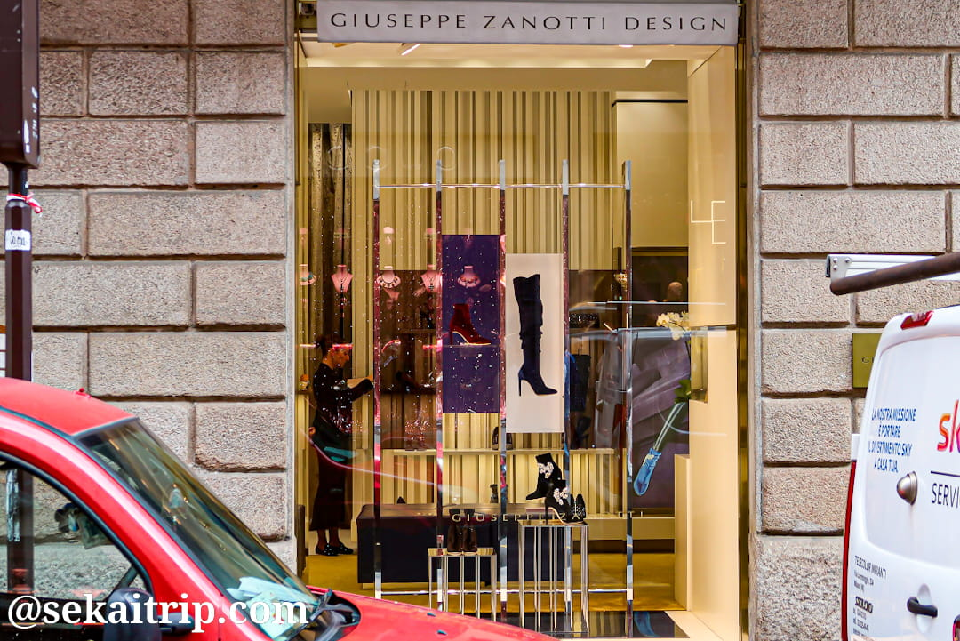 ジュゼッペ・ザノッティ・デザイン(GIUSEPPE ZANOTTI DESIGN)のミラノ本店