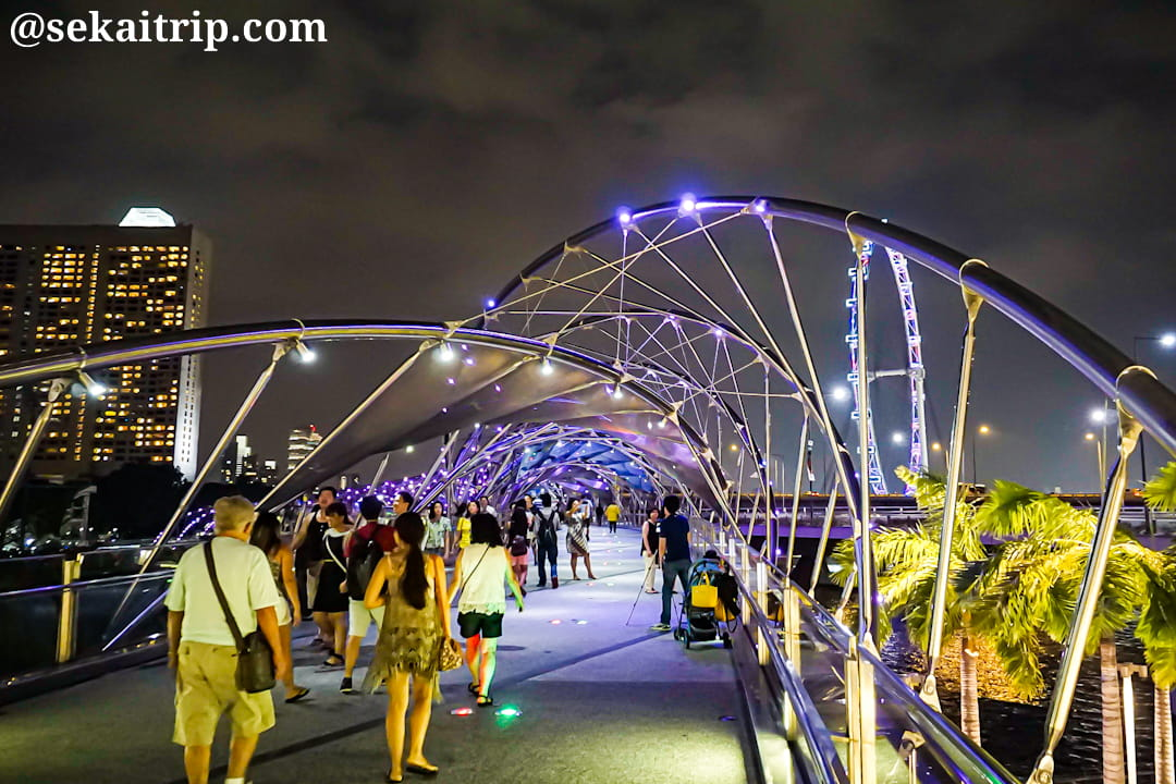 シンガポールのヘリックス橋(Helix Bridge)