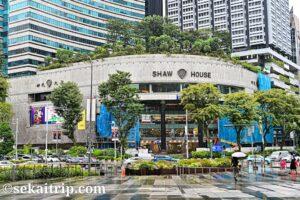 シンガポールの伊勢丹スコッツ店