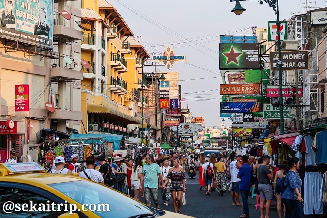 バンコクのカオサン通り(Khao San Road)