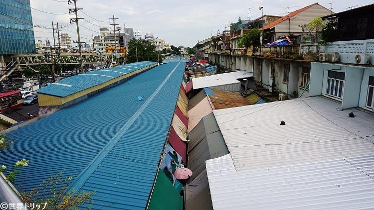 バンコクのクロントゥーイ市場