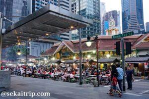 シンガポールのラオパサ(Lau Pa Sat Festival Market)