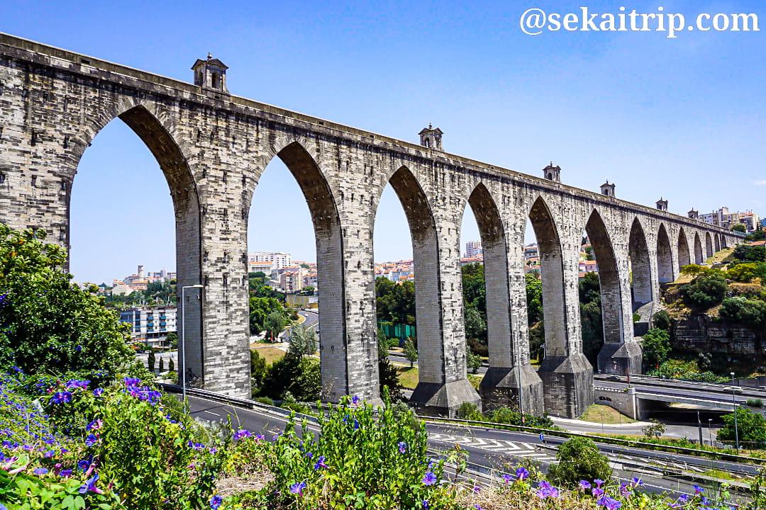 ポルトガル・リスボンのアグアス・リブレス水道橋(Aqueduto das Aguas Livres)