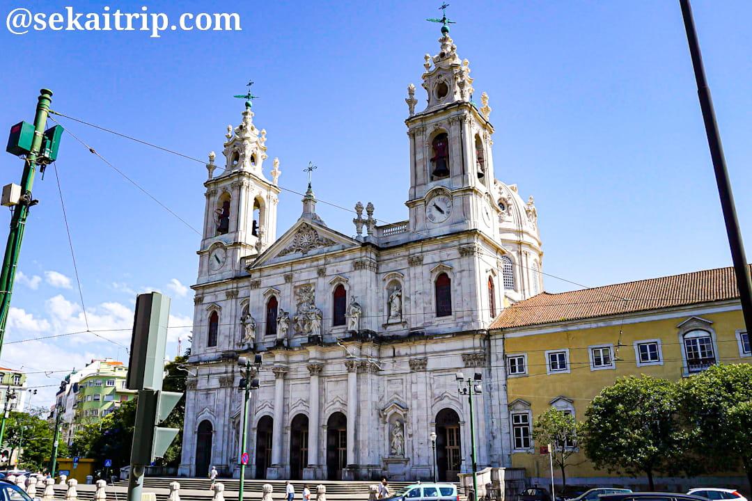 ポルトガル・リスボンのエストレラ大聖堂(Basilica da Estrela)