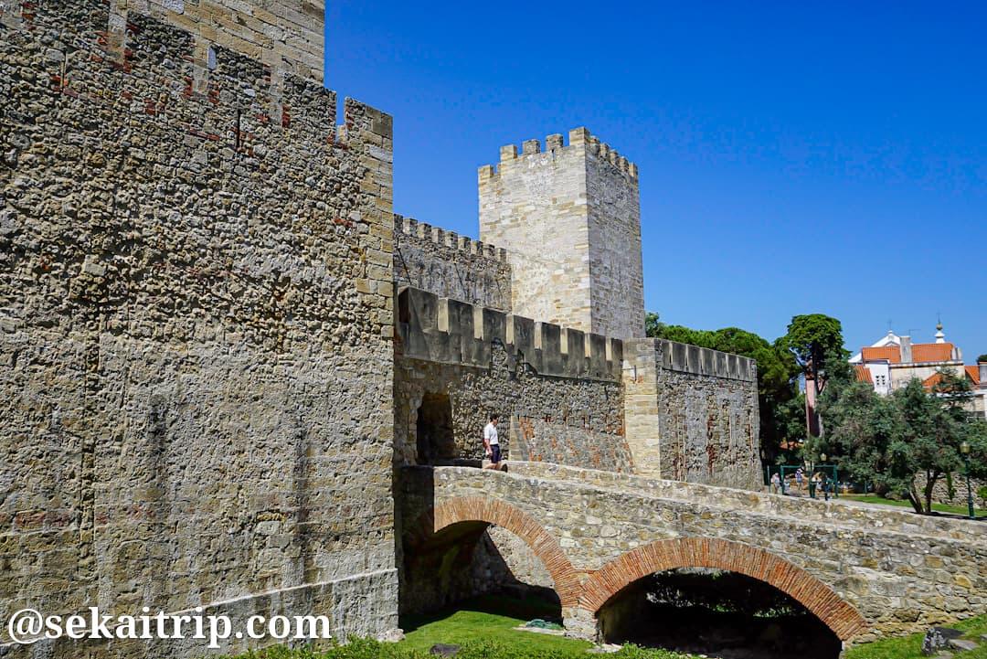 ポルトガル・リスボンのサン・ジョルジェ城(Castelo de São Jorge)