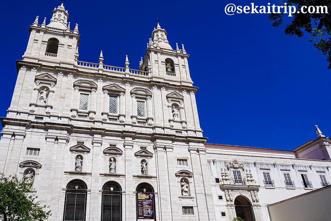 ポルトガル・リスボンのサン・ヴィセンテ・デ・フォーラ修道院(Igreja de São Vicente de Fora)