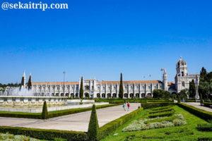 ポルトガル・リスボンのジェローニモス修道院(Mosteiro dos Jerónimos)