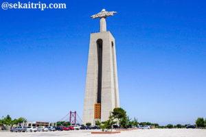ポルトガル・リスボンのクリスト・レイ像(Santuário Nacional de Cristo Rei)