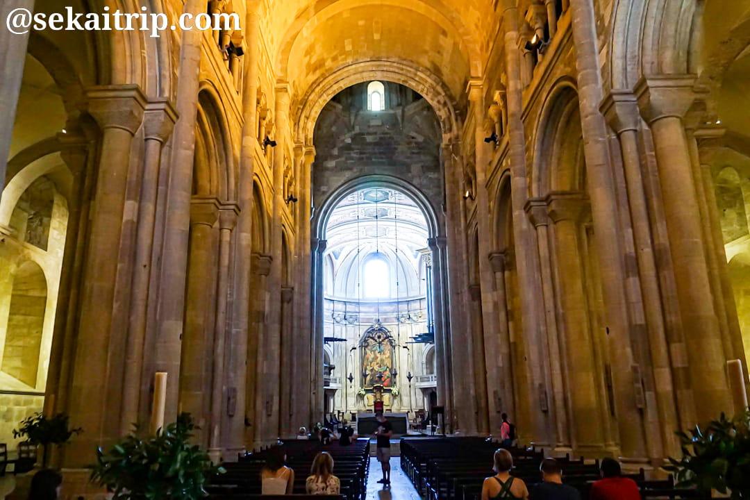 リスボン大聖堂(Sé de Lisboa)の内部