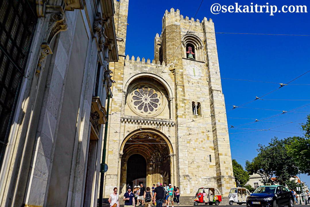 ポルトガル・リスボンのリスボン大聖堂(Sé de Lisboa)